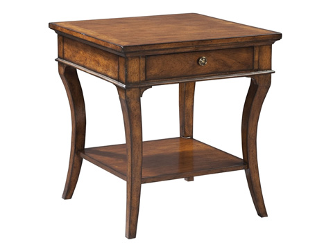 Hekman Furniture - European Legacy Square End Table - 1-1104