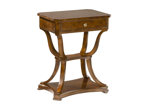 Hekman Furniture - European Legacy Side Table - 1-1110