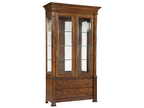 Hekman Furniture - European Legacy Tall China Cabinet - 1-1132