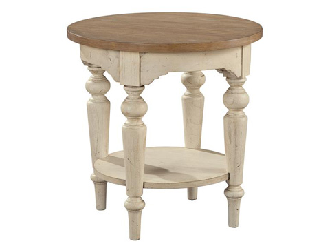Hekman Furniture - Sutton's Bay Round Lamp Table - 1-4113
