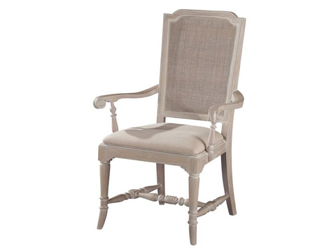 Hekman Furniture - Sutton's Bay Cane Back Arm Chair - 1-4122