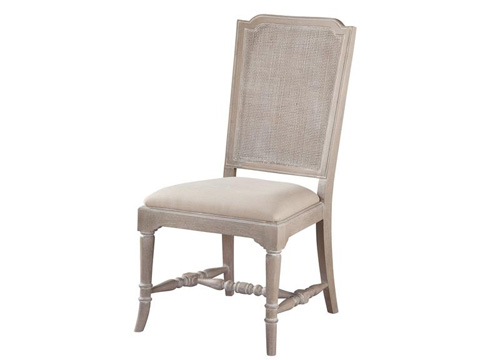 Hekman Furniture - Sutton's Bay Cane Back Side Chair - 1-4123
