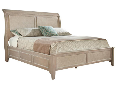 Image of Sutton's Bay Sleigh Queen Bed