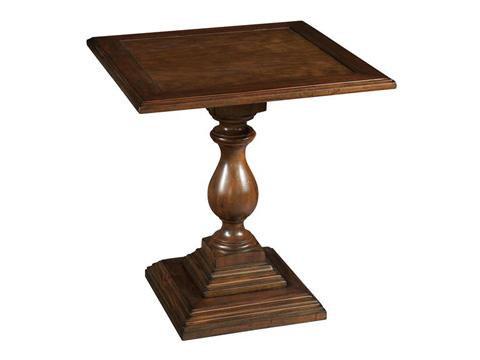 Hekman Furniture - Vintage European Square Pedestal End Table - 2-3207