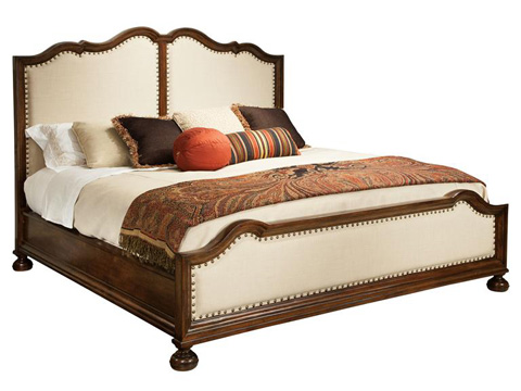 Hekman Furniture - Vintage European Upholstered King Bed - 2-3269