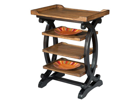 Hekman Furniture - Four Tier Table - 2-7153