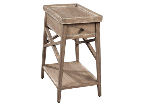 Hekman Furniture - Primitive Chairside Table - 2-7275