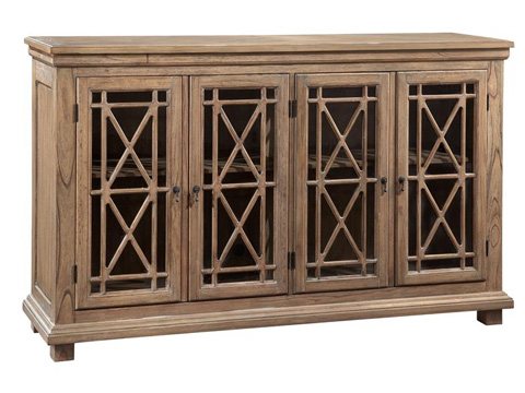 Image of Lattice Front Entertainment Console