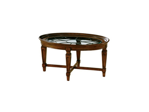 Hekman Furniture - Metal Grille Coffee Table - 7-2827
