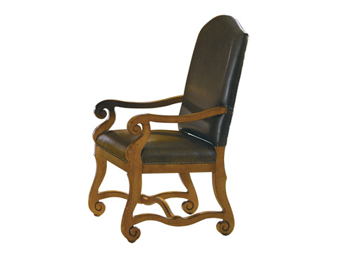 Hekman Furniture - Mountain Retreat Leather Arm Chair - 7-8026-35