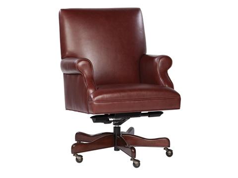 Hekman Furniture - Merlot Leather Executive Chair - 7-9250M