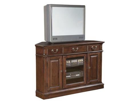 Hekman Furniture - Weathered Cherry Corner Entertainment Center - 8-1544