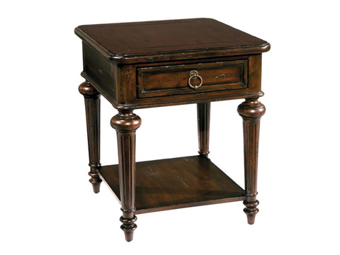 Hekman Furniture - Charleston Place Lamp Table - 943709CP