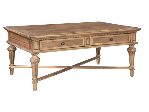 Hekman Furniture - Wellington Hall Rectangular Coffee Table - 2-3301