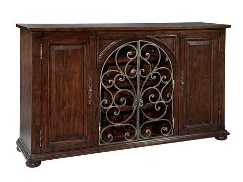 Hekman Furniture - Rustic Iron Wine Sideboard - 2-7336