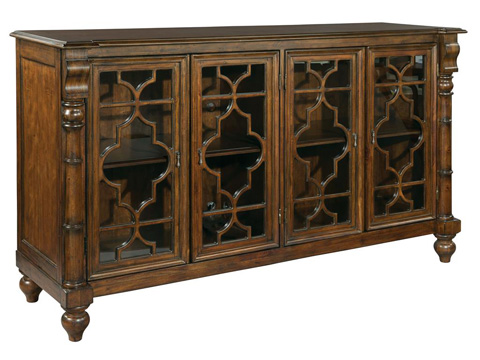 Image of Vintage European Entertainment Console