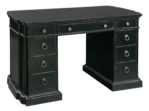 Image of Serpentine Kneehole Desk