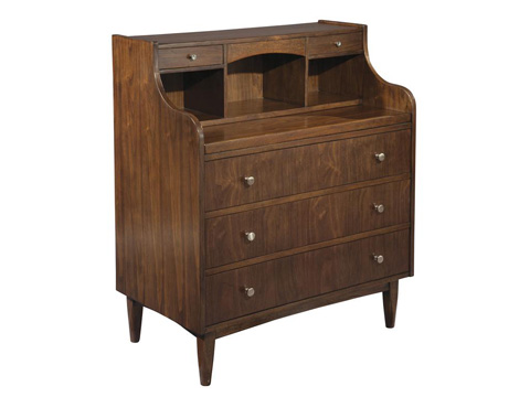 Hekman Furniture - Mid Century Modern Secretary - 951311MW