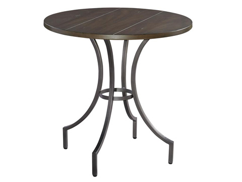 Hekman Furniture - Homestead Primitive Round Iron Lamp Table - 1-2210ML