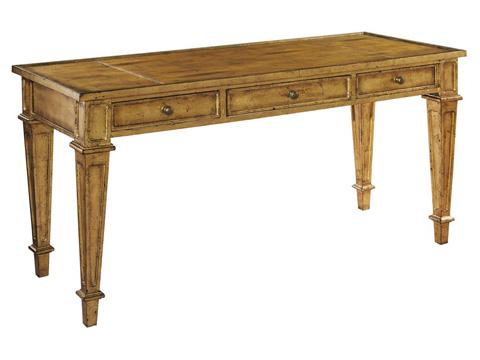 Hekman Furniture - Gold Leaf Table Desk - 2-7528