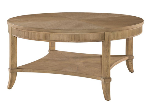 Hekman Furniture - Urban Retreat Round Coffee Table with Reeded Apron - 952202KH