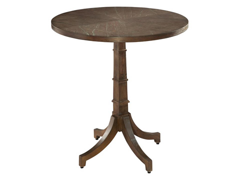 Hekman Furniture - Urban Retreat Round Chairside Table - 952206SU