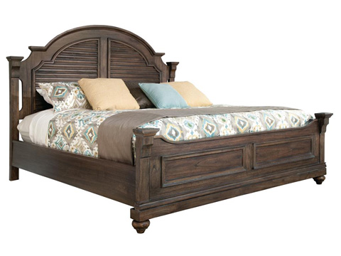 Image of Homestead Louvered King Bed