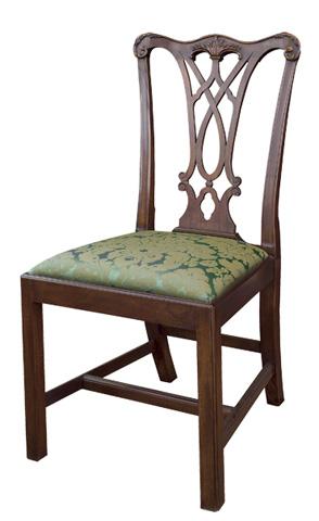 Henkel-Harris - Chippendale Side Chair - 107S