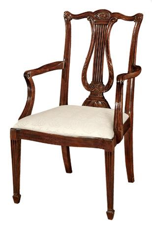 Henkel-Harris - Lyre Back Arm Chair - 118A