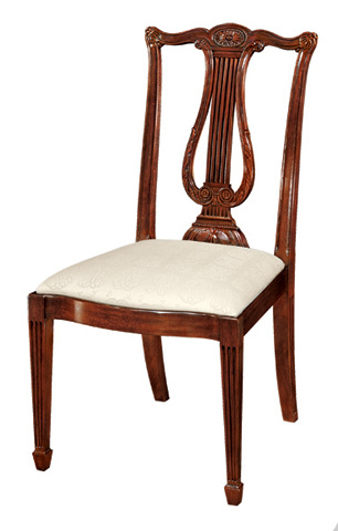 Image of Lyre Back Side Chair