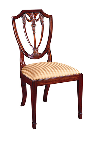 Image of Shield Back Side Chair