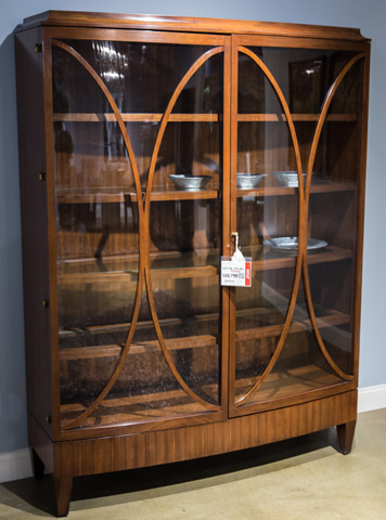 Image of Open Oval China Cabinet