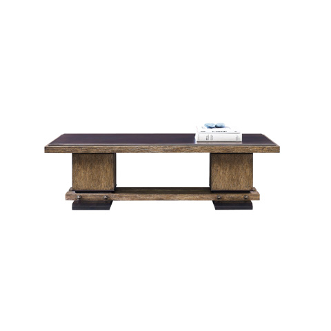 Henredon - Double Pedestal Cocktail Table - 3440-40