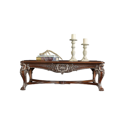 Henredon - Carved Rectangular Cocktail Table - 5040-40