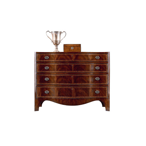 Image of Four Drawer Single Dresser
