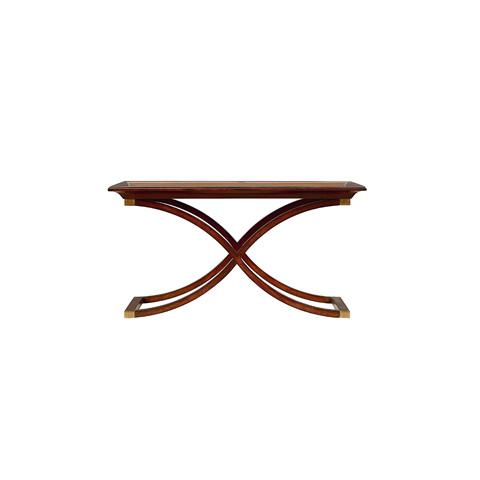 Henredon - X-Leg Rectangular Cocktail Table - 9400-40