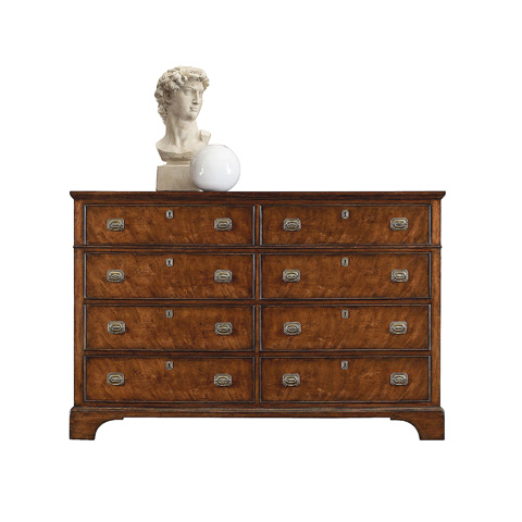 Image of Eight Drawer Double Dresser