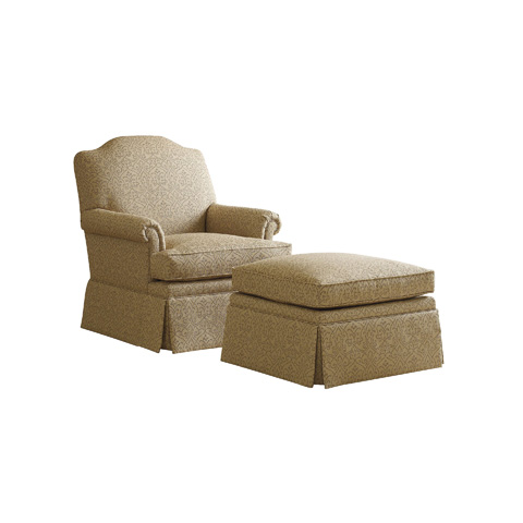 Henredon - Charlize Rolled Arm Chair - H1208