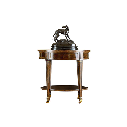Henredon - Oval End Table with Shelf - 2700-41