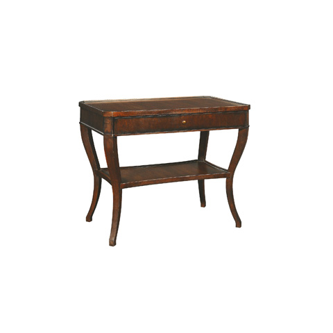 Henredon - Rectangular End Table with Drawer - 3008-41