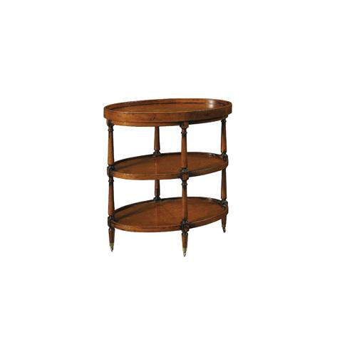 Henredon - Chaunay Oval Chairside Table - 3012-41