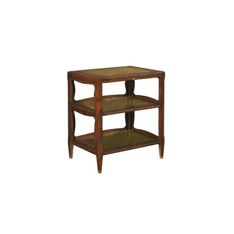 Henredon - Jansen Side Table with Shelves - 3031-41-669