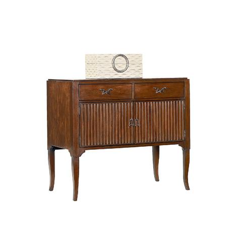 Henredon - Dimitri Cabinet Nightstand with Drawers - 3301-06
