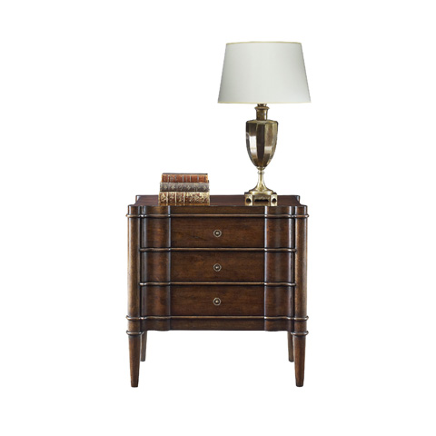 Henredon - Three Drawer Nightstand - 3400-06