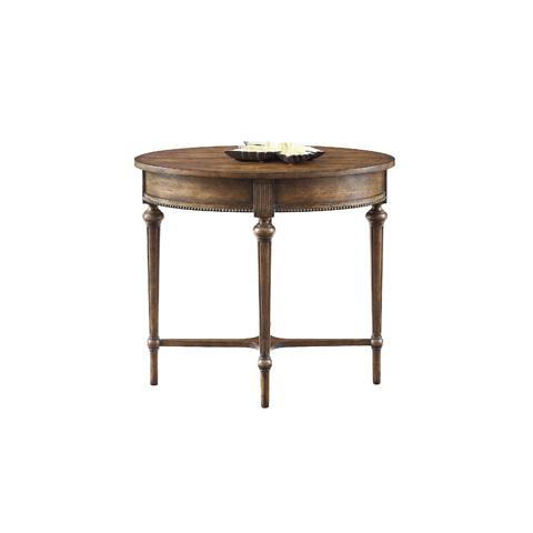 Henredon - Oval Lamp Table - 3400-42