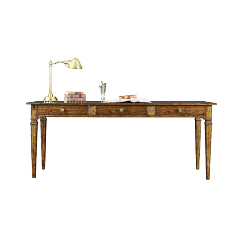 Henredon - Writing Desk with Three Drawers - 3400-45