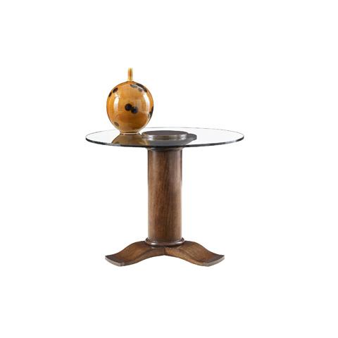 Henredon - Pedestal Lamp Table - 3423-42G