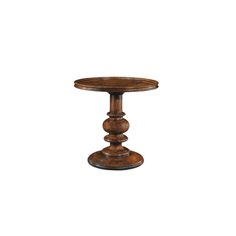 Henredon - Round Pedestal Side Table - 4402-41