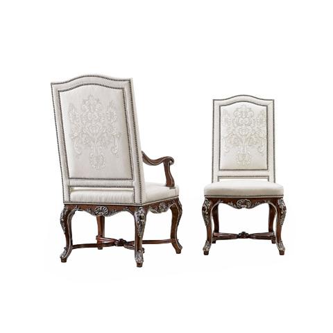 Henredon - Camel Back Arm Chair - 5041-27