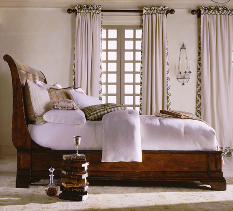 Image of King Sleigh Bed